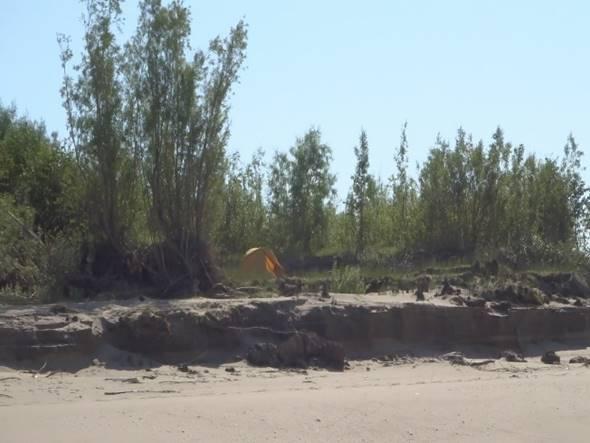 Первый поход пляжного катамарана «Шустрик»: р. Лена, Намцы-Кюсюр